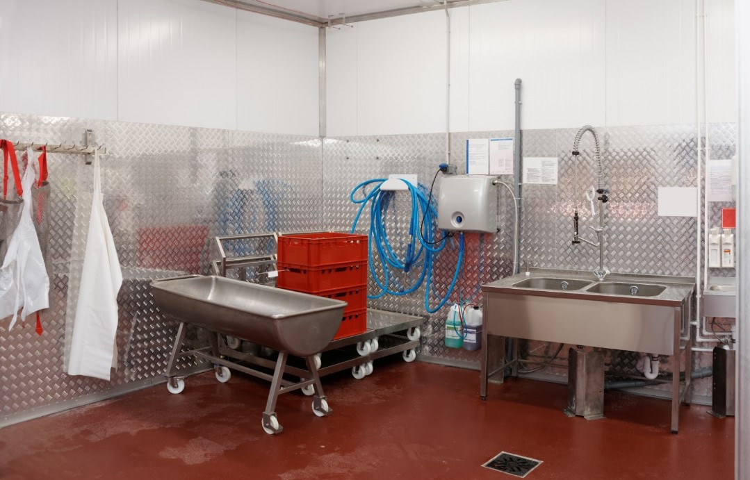 Food and beverage manufacturing epoxy flooring in CT