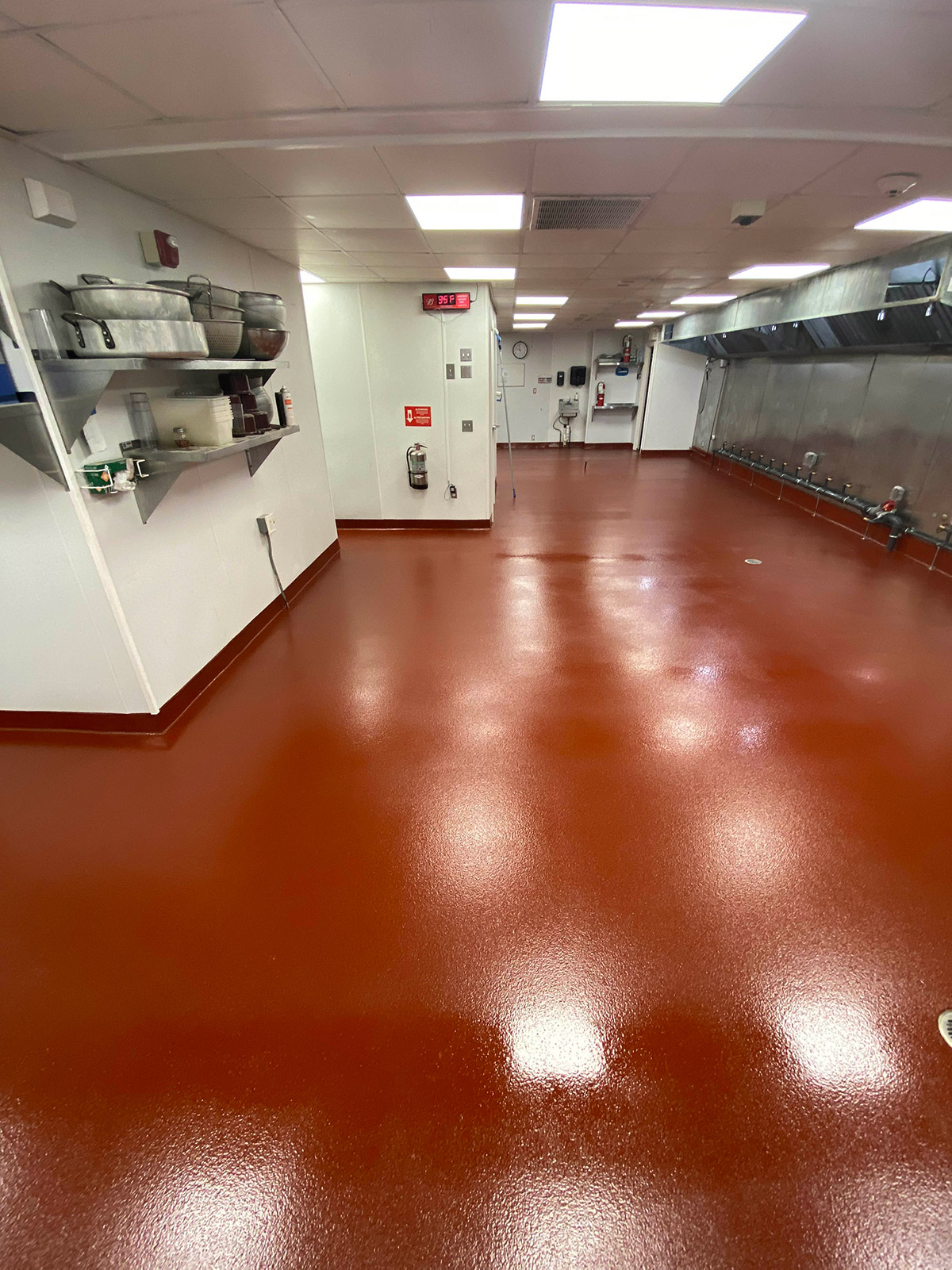 Epoxy flooring for restaurant in CT