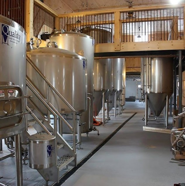 Brewery epoxy flooring in CT