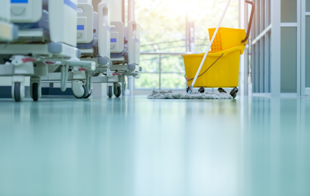 Seamless epoxy flooring for healthcare in CT