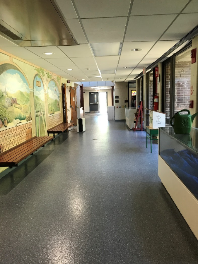 Epoxy flooring for educational facilities and schools in CT