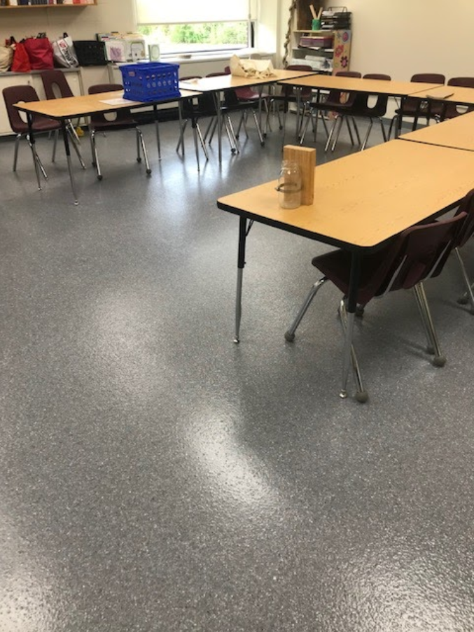 Seamless epoxy flooring for schools in CT